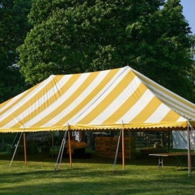 Tent, 40 X 160 Pole, Y-W picture 1
