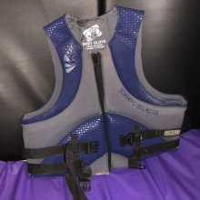 Grey and blue life jackets - adult size