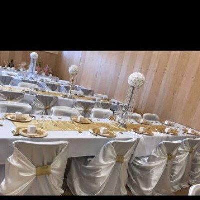 universal satin white chair covers-3