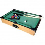 Table top miniature pool table