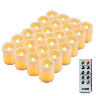 Flameless candle set picture 1