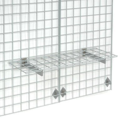 Wire grid wall picture 1