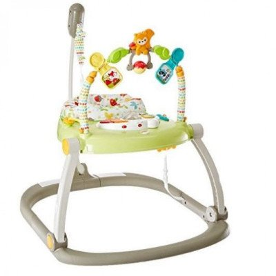 fisher-price – woodland friends space saver jumperoo