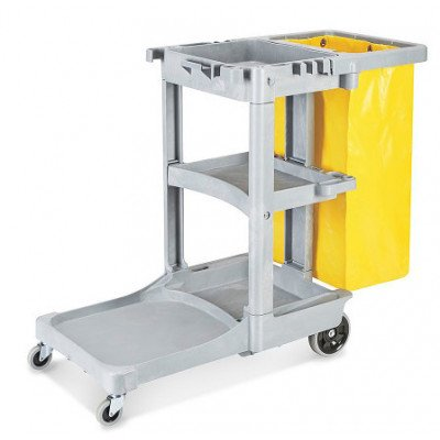 commercial janitor cart