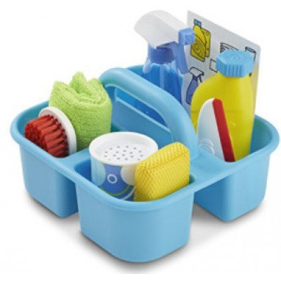 melissa & doug – play cleaning caddy set