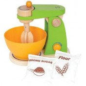 Hape – Mighty Mixer Wooden Play Kitchen Set