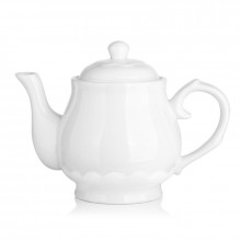 dowan- ceramic teapot 22oz white