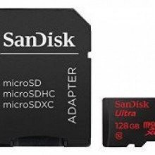 SanDisk – Ultra 128GB microSDXC Card with Adapter