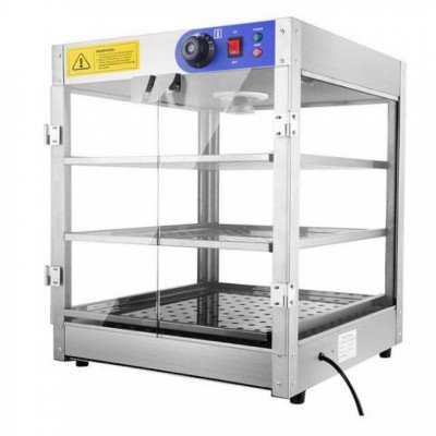 commercial pizza - concession food warmer display