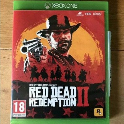red dead redemption 2- xbox one game