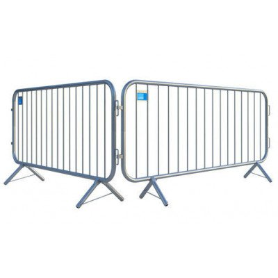 barricade fencing panels – galvanized steel
