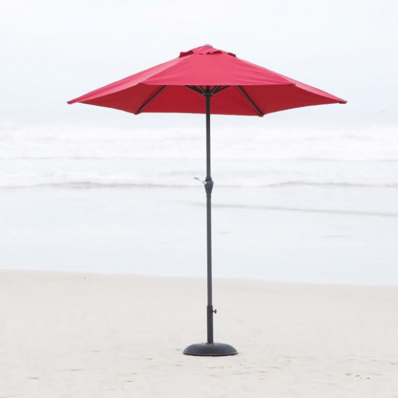 Patio - market umbrella with base