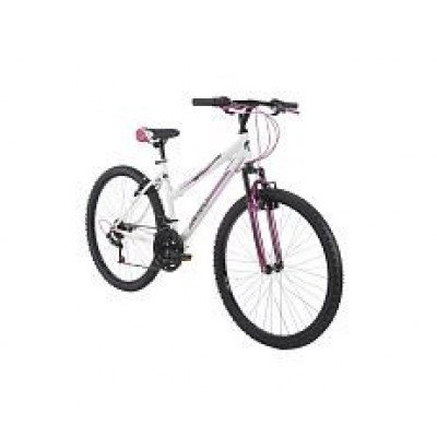 avigo – 26 inch descent bike – white and pink
