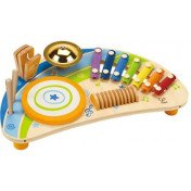 Hape - Mighty Mini Band Wooden Percussion Instrument Set