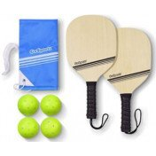GoSports -Wood Pickleball Starter Set