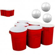 Adult beer pong game