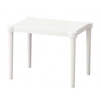 children's table, white