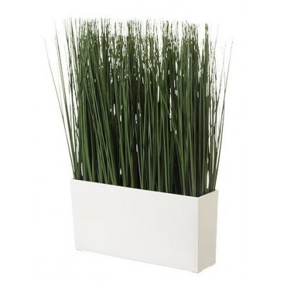 artificial potted plant, grass