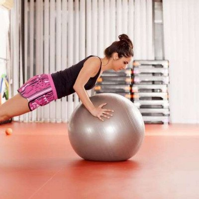 incline fit – exercise ball