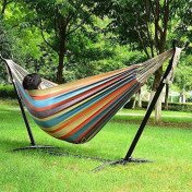Ohuhu - Double Hammock with Steel Stand