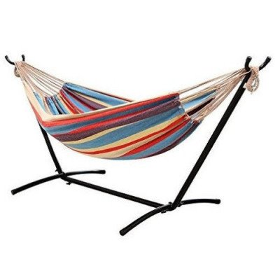ohuhu - double hammock with steel stand-1