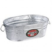 Behrens – 15 Litre Hot Dipped Steel Oval Tub