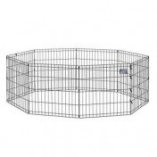 "MidWest – 24"" Foldable Metal Exercise Playpen"