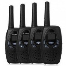 Floureon – Handheld 2 Way Walkie Talkies (4 Units)