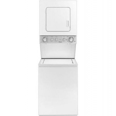 top load washer & dryer stackable combo