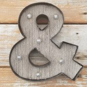 """Marquee """"&"""" Ampersand light up symbol"""