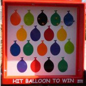 Carnival game- balloon dart with out balloons