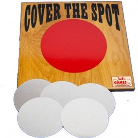 Carnival game- cover the spot