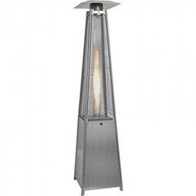 Glass Tower Patio Heater without Propane