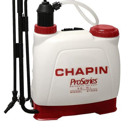 Backpack Sprayer for Fertilizer, 4 gal (Chapin International 61500 ) picture 1