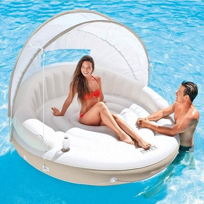 canopy island inflatable lounge picture 1