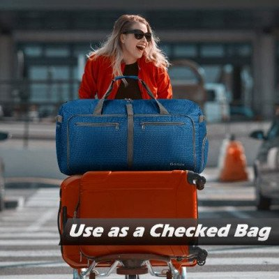 100l foldable travel duffel bag picture 2