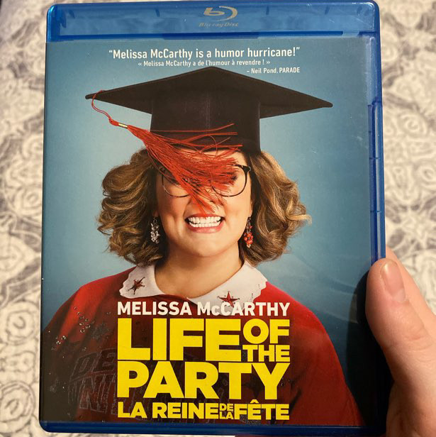 life of the party blu-ray/ dvd set - melissa mccarthy
