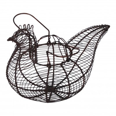 Hen-Shaped Egg Basket picture 1