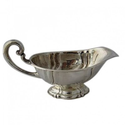Silver Sauce Boat picture 1