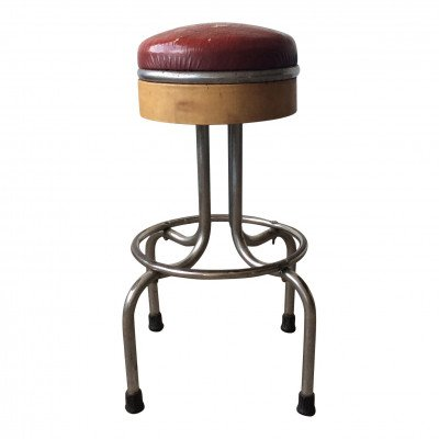 Red Bar Stool picture 1