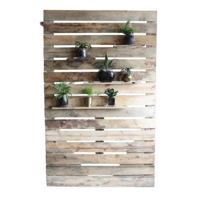 Slatted Wood Photobooth Backdrop picture 2