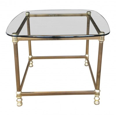 Fontaine Brass Side Table picture 1