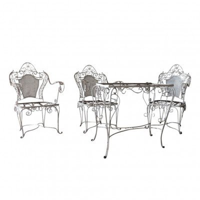 French Garden Dining Furniture Set picture 1