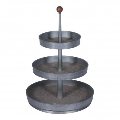 Galvanized 3-Tiered Stand picture 1