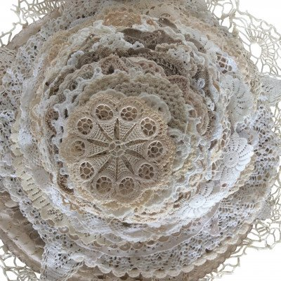 White-Ivory Doily - Assorted picture 1