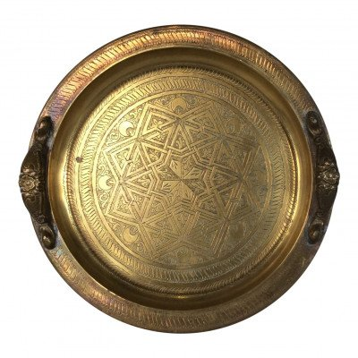 Axl Brass Handled Tray picture 1