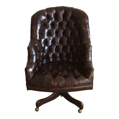 Paxton Leather Club Chair picture 1