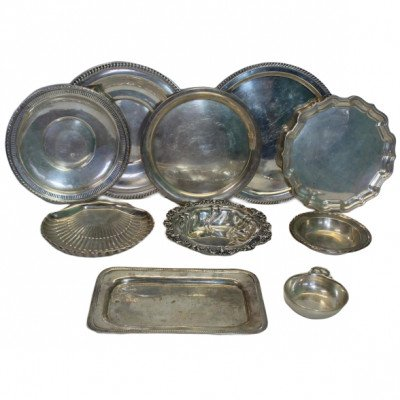 S/M Silver Tray - Assorted picture 1