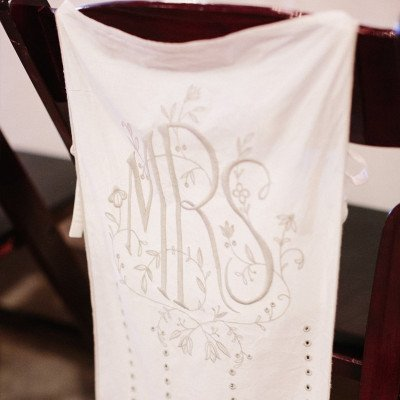 Mr. and Mrs. Chair Banners picture 3