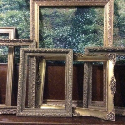 Gilded Empty Frame picture 1